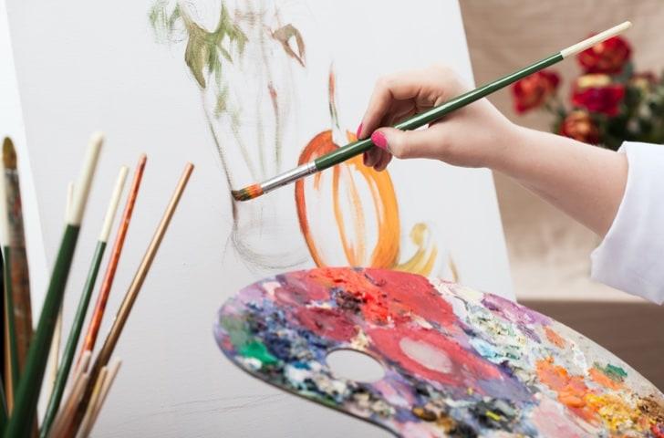 Peinture et supports