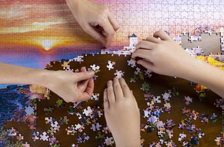 Puzzles 1500 pièces